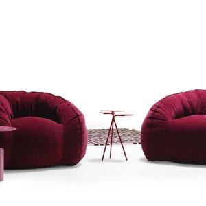 Hug armchair - fotolii moderne, mobila lux