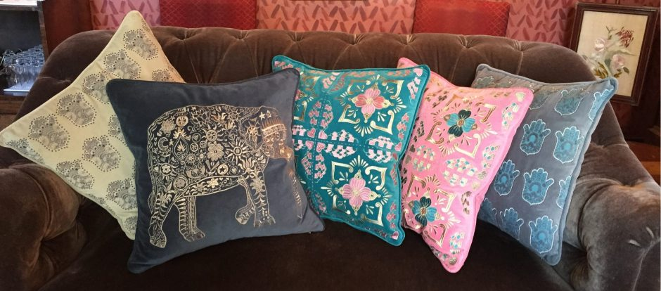 Elizabeth Scarlett A:W 2015 Cushion Collection