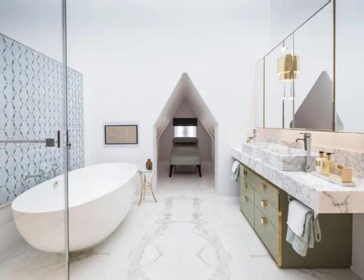 Design rules balance harmony for Bathroom interior design rules