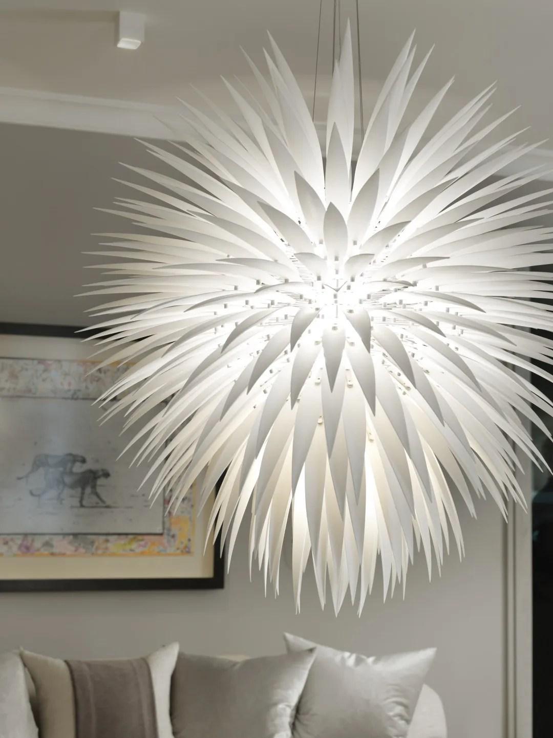 Flora inspired lights by Jeremy Cole