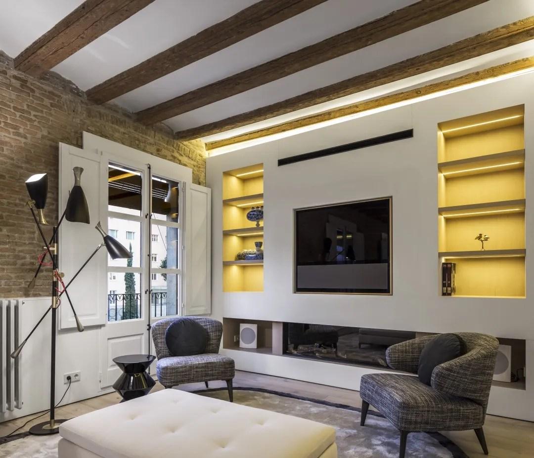 Barcelona Apartments: Barcelona Apartment Designed By Anke Summerhill, Creative