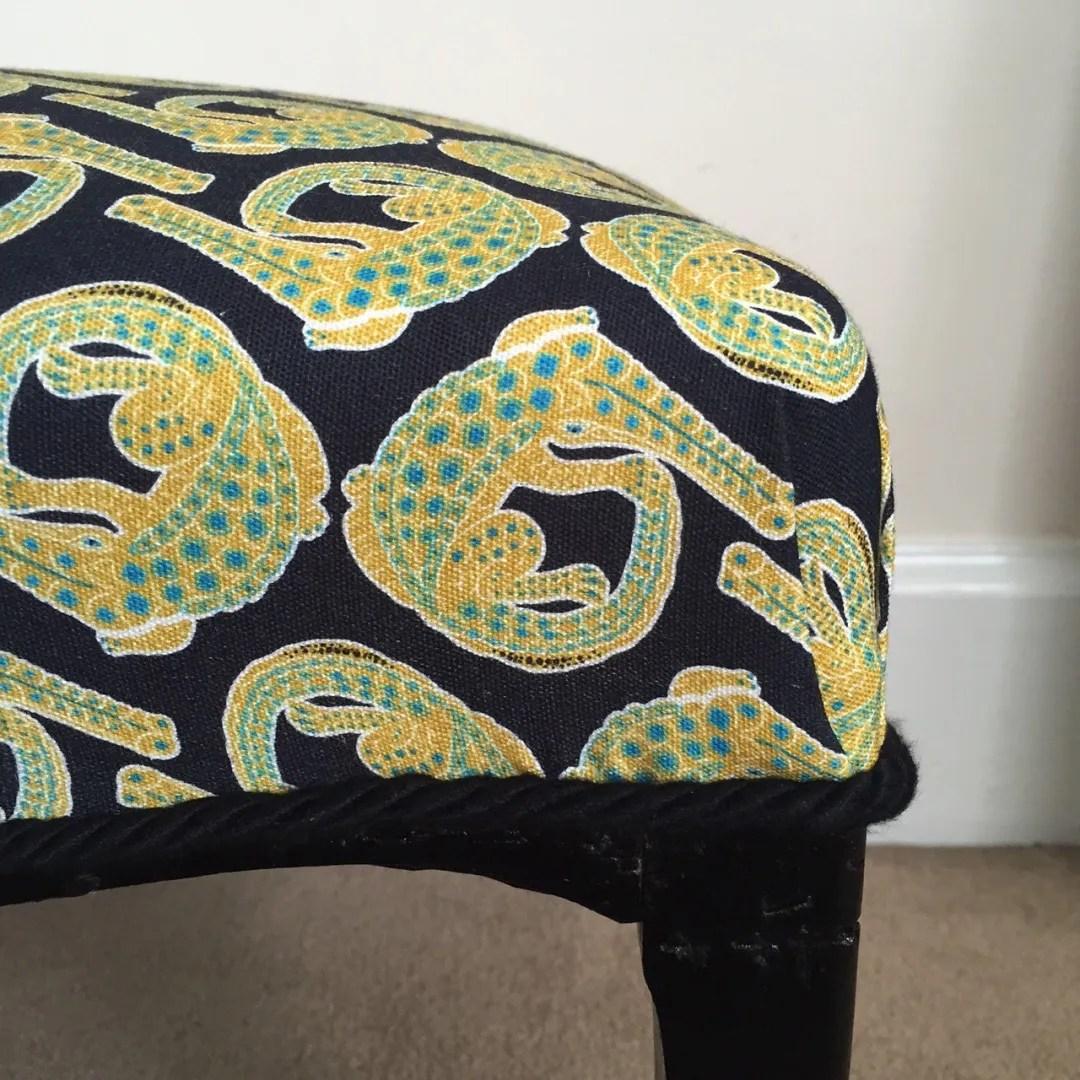 footstool halsted design