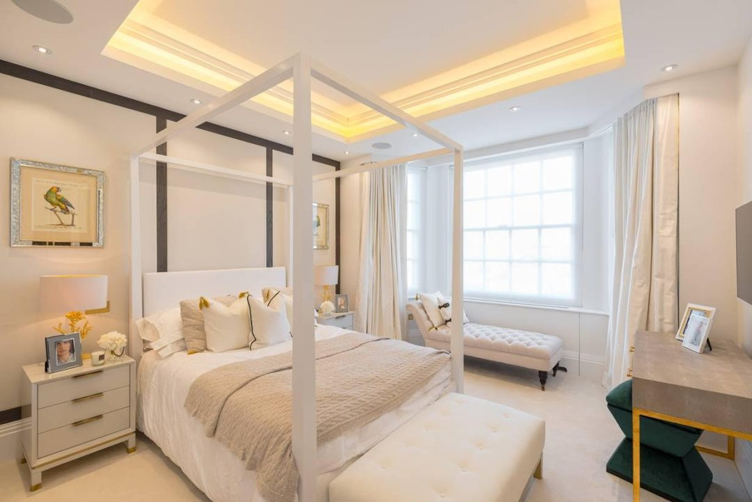 Top designers share their master bedroom interior design ideas for Bedroom designs london