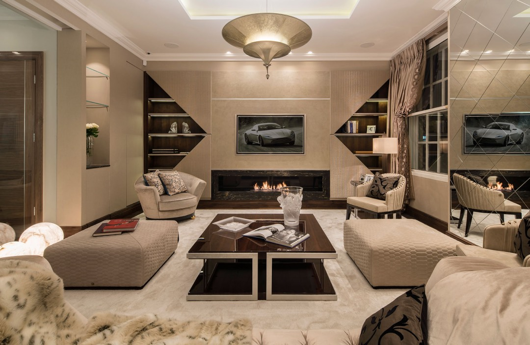 My first meeting with alex and michael christou was in their mayfair apartment off park lane its not often that a design firm has a finished product to be