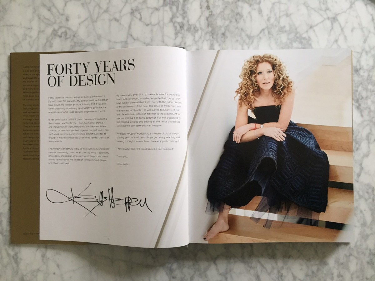 Book Review & Instagram Giveaway: House of Hoppen - A retrospective by Kelly Hoppen