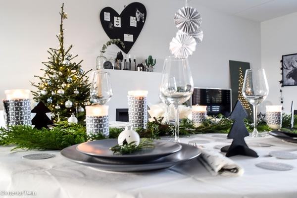 kersttafel met ikea servies