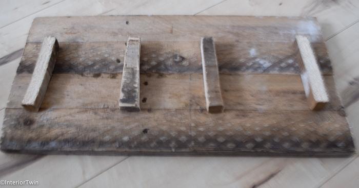 diy sloophouten plank