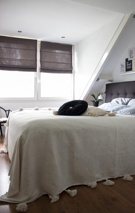 slaapkamer boho industrieel