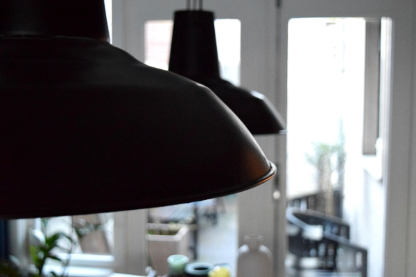 zwarte stoere lampen