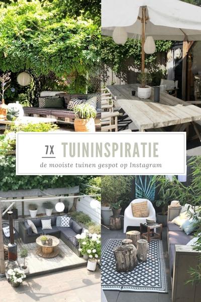 7 x tuininspiratie: de mooiste tuinen gespot op Instagram