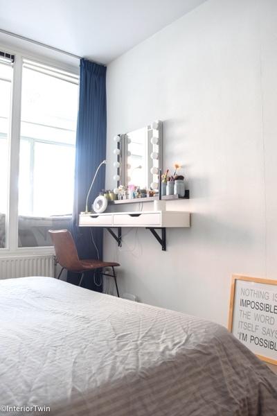 makeuphoekje slaapkamer