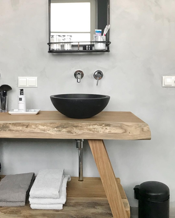 badkamer betonlook kirsterieur