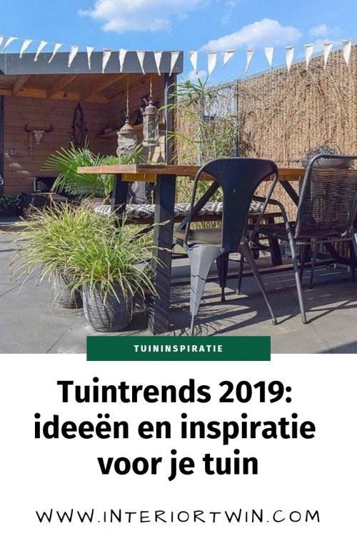tuintrends 2019: ideeen en inspiratie voor je tuin