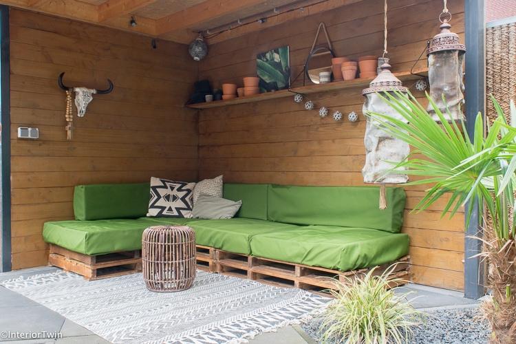 loungehoek zelf lounge matraskussens maken zonder naaimachine