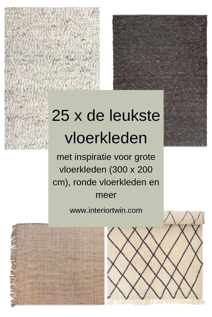25 x de leukste vloerkleden met inspiratie voor grote vloerkleden (300 x 200), ronde vloerkleden en meer