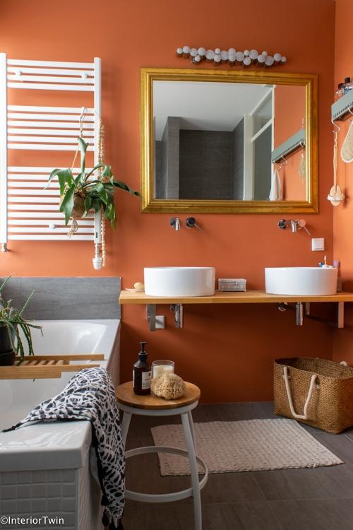 dubbele wasbak kleine badkamer badkamer