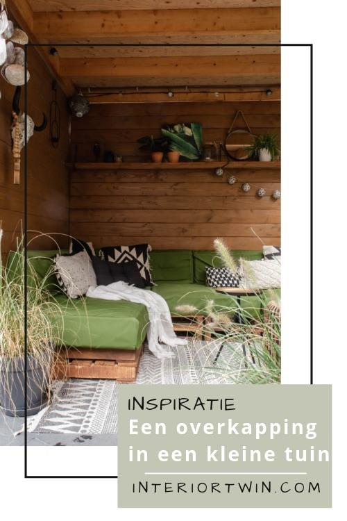 inspiratie: een overkapping in een kleine tuin