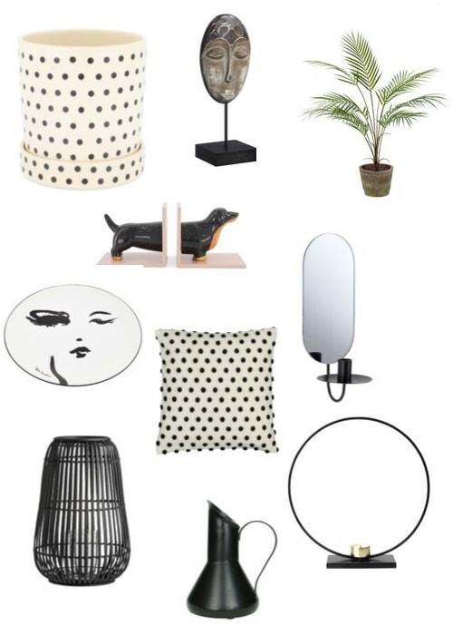 budget accessoires 2019 najaar zwart wit design