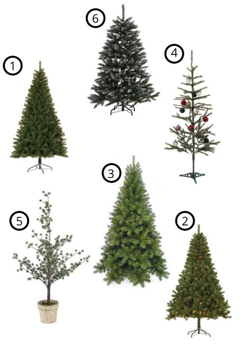 goedkope kunstkerstbomen 2019