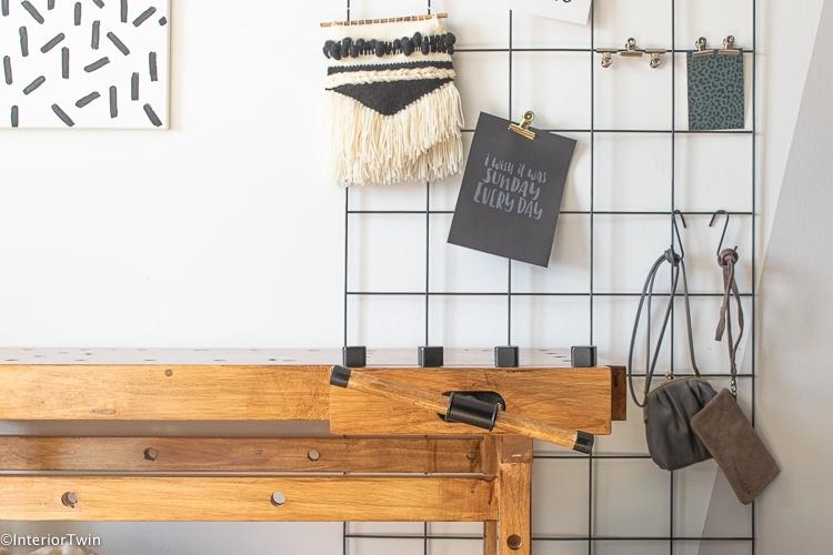 goedkope werkbank look a like oude sidetable om zelf op te knappen
