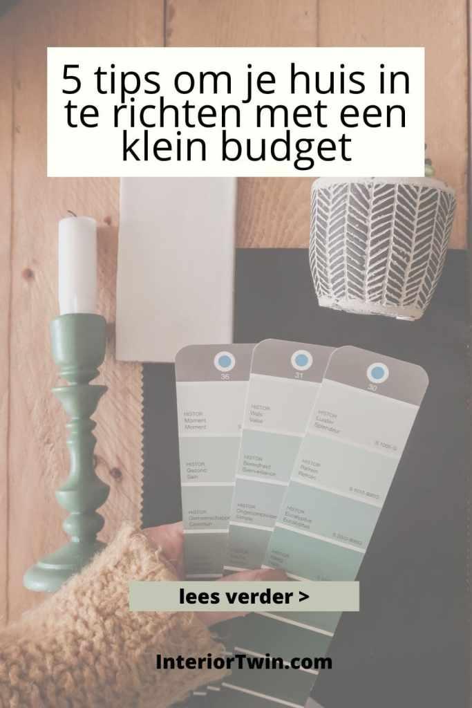 huin stylen en inrichten met klein budget