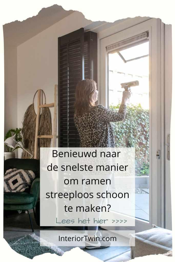 snelste manier ramen streeploos schoon