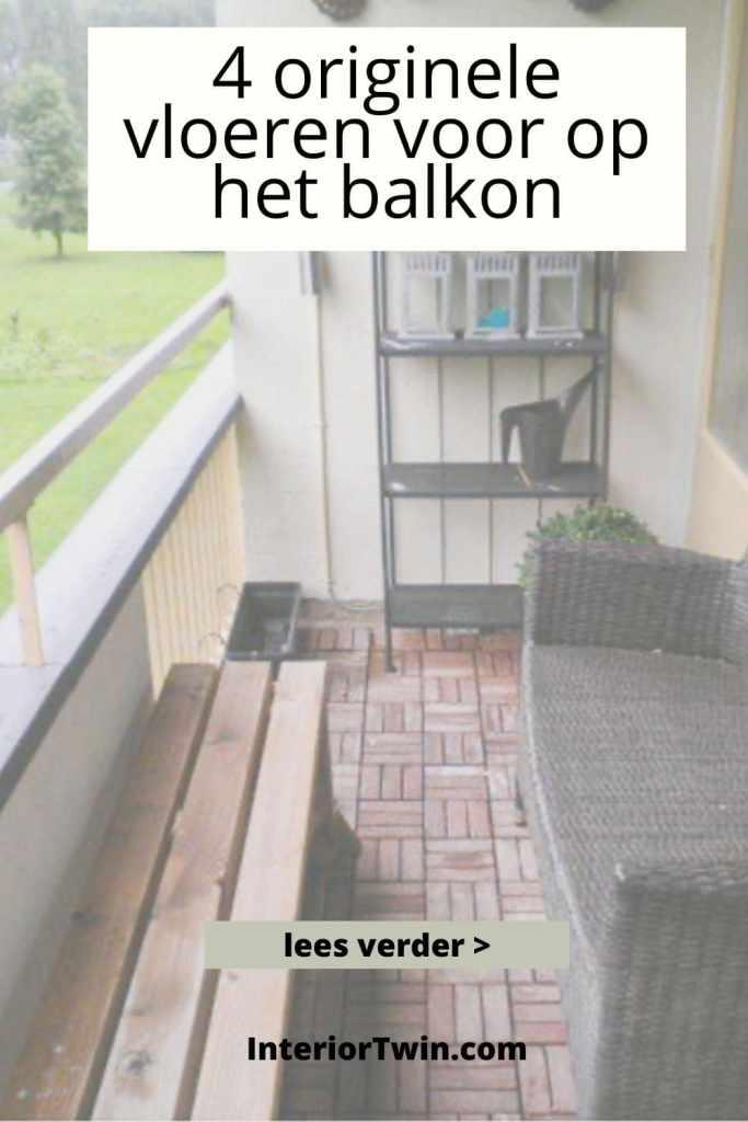 originele vloeren balkon