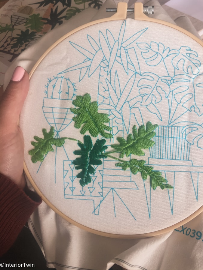 borduren met patroon tekening beginners