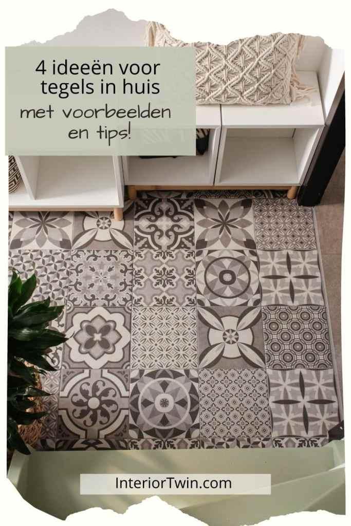 ideeen voorbeelden tips tegels in huis