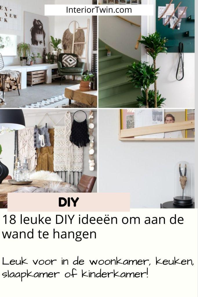 18 leuke diy ideeen wand woonkamer keuken slaapkamer kinderkamer
