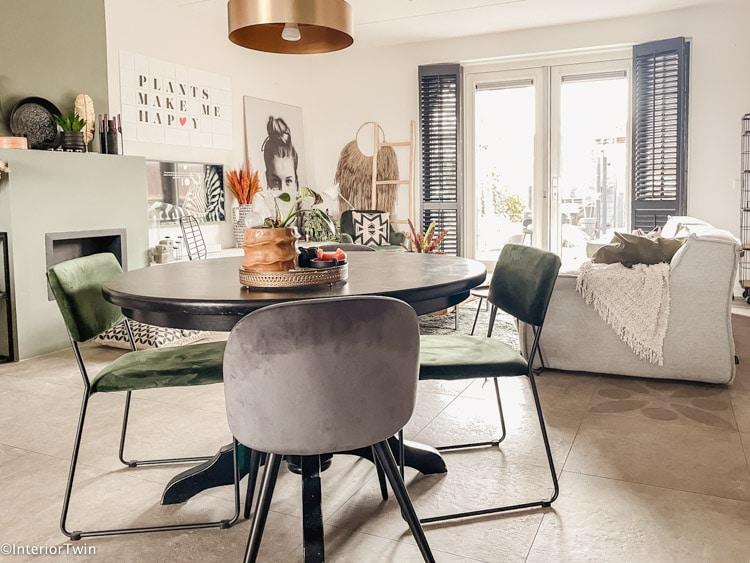 inrichten rechthoekige woonkamer indeling