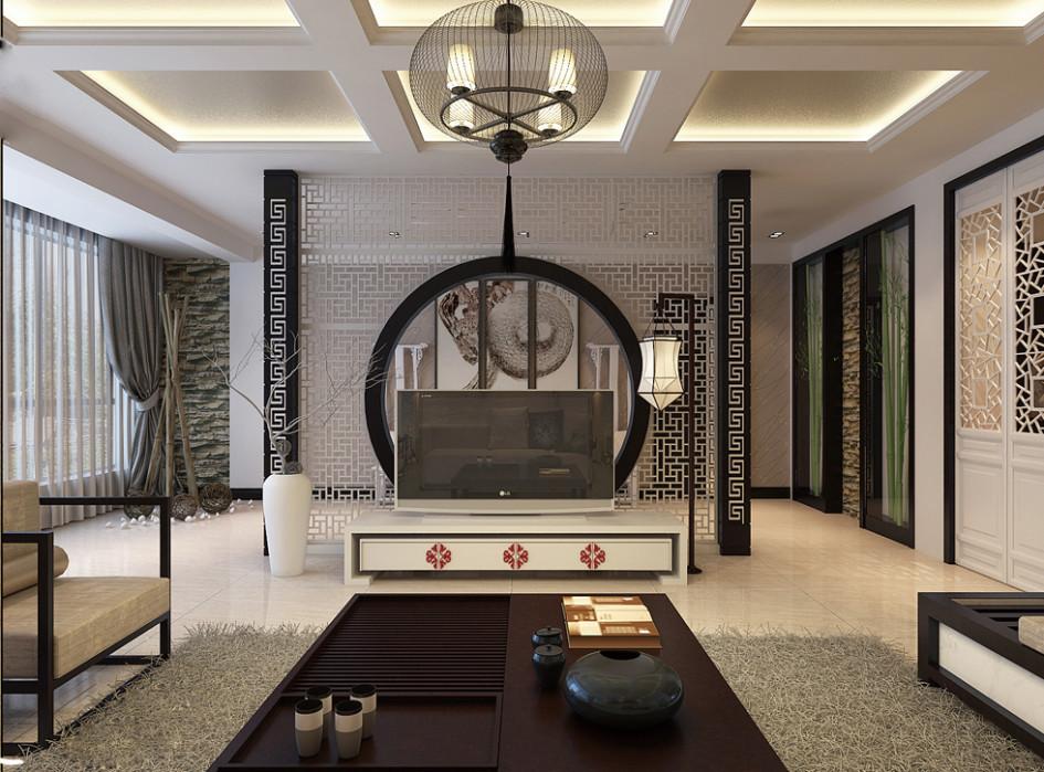 Desain Interior Dengan Konsep Oriental
