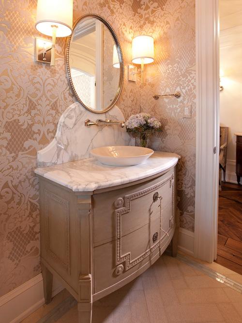 Most Superlative Victorian Style Powder Rooms Interior Vogue