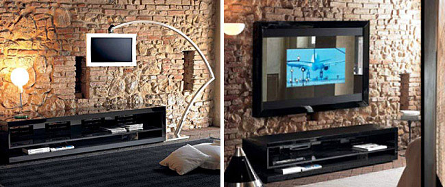 Ergonomia Design by Marco Zordan wall mounted plasma screens