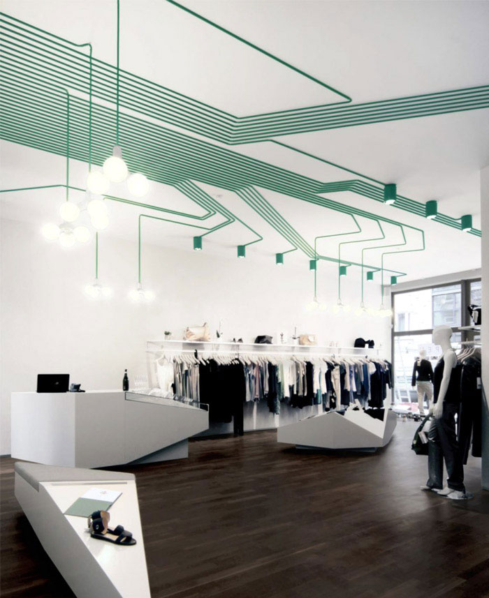 Interior Decorating by Kinzo composed green light