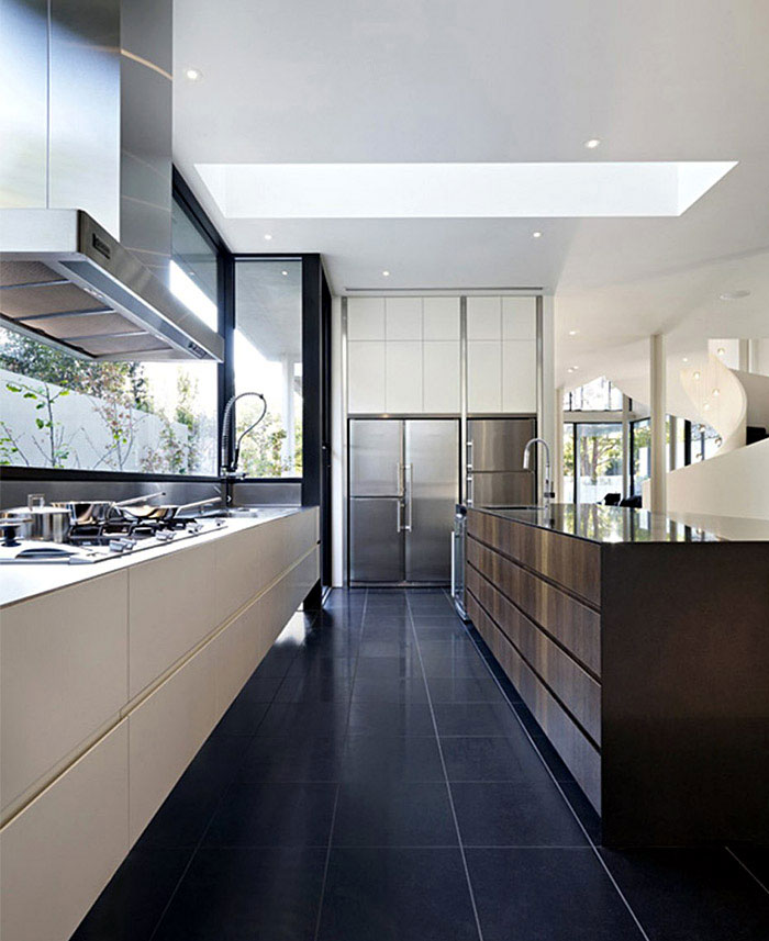 A Luxurious Contemporary Family Home luxurious contemporary kitchen