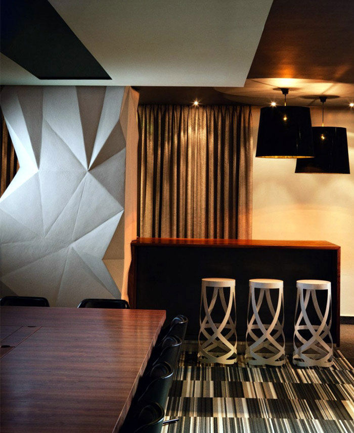 An Office Interior in Johannesburg luxurious finishes interior
