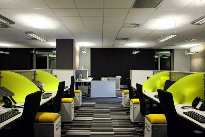 An Office Interior in Johannesburg modern office interior
