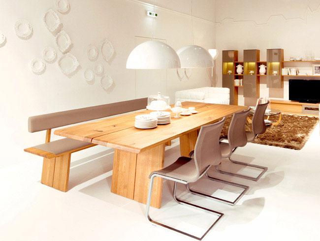 Solid Wood Design in Motion solid wood design diningroom