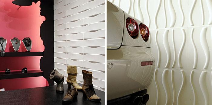 Eco Friendly 3D Wall Panels creative wall panels