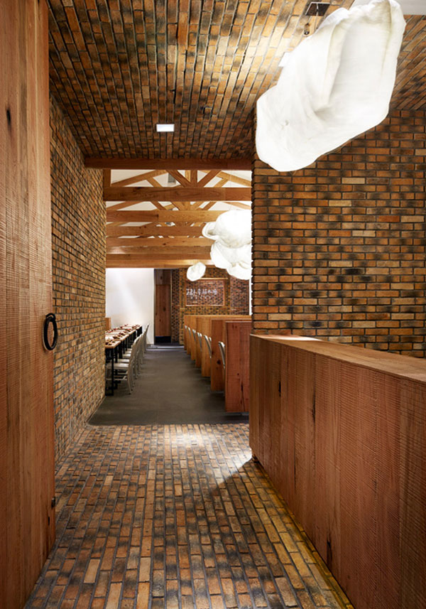 Modern With A Rustic Restaurant Decor InteriorZine