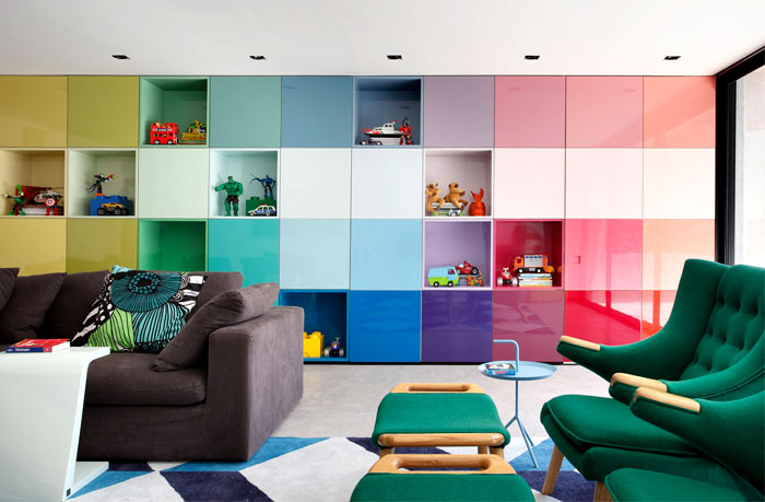 Colorful And Vibrant Home Interior By Guilherme Torres Architects InteriorZine