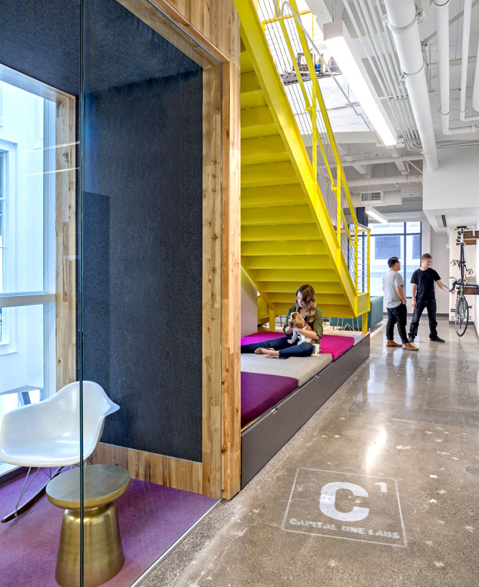 Vivid Office Space By Studio OA InteriorZine