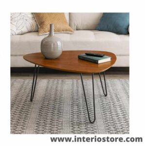 best oval wood coffee table for living