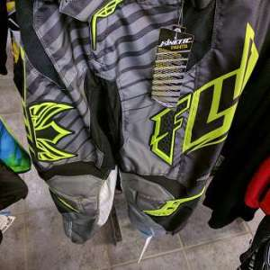 Fly Racing Kinetic Rs Pant Black/Yellow Sz 30