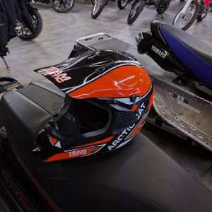 Arctic Cat MX Sno Cross Sno Pro Helmet – Orange-XL Extremely