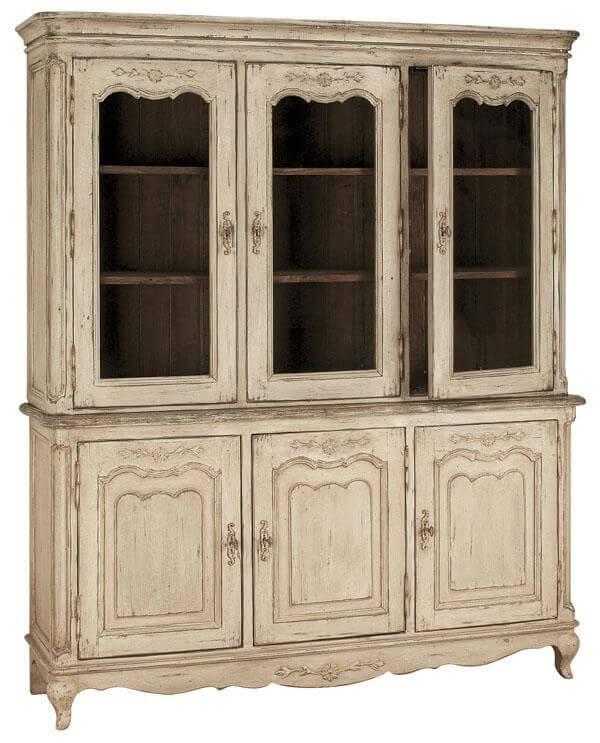 """Буфет 3-х дверный со стеклом """"Chateau"""""""