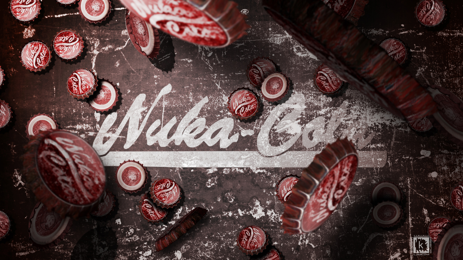 nuka cola fallout wallpaper designed by keena wolff graphic designer las cruces