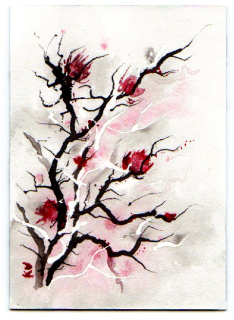 tree watercolor keena wolff