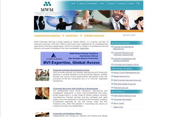 MWM Global Holdings website